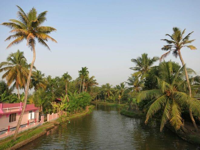 Los canales de Kerala