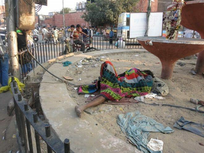 Una tarde cualquiera en las calles de Jaipur...