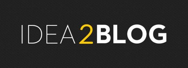 Idea2Blog