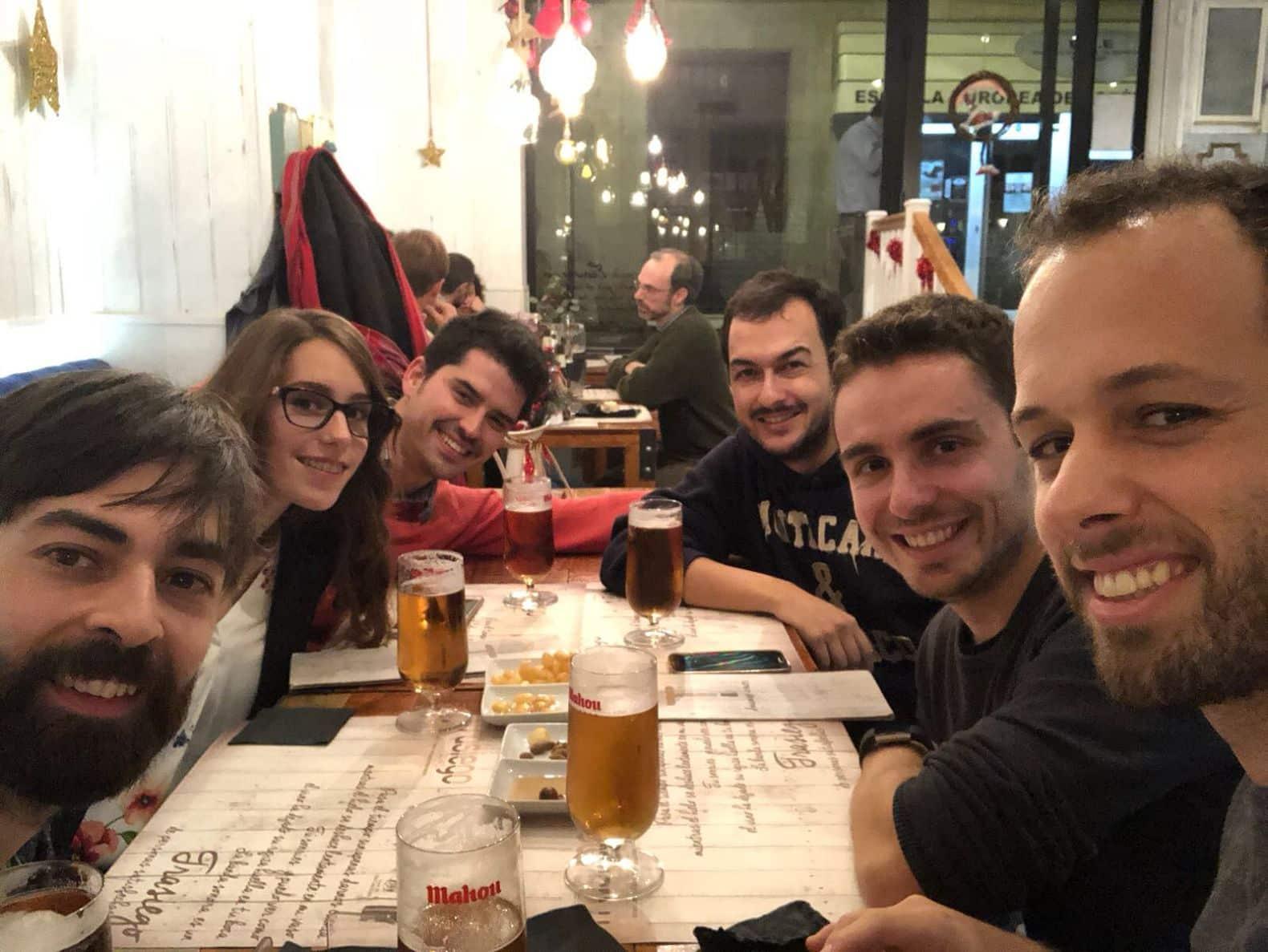 Janeiro de 2018. Amigos do Ángel em Mérida