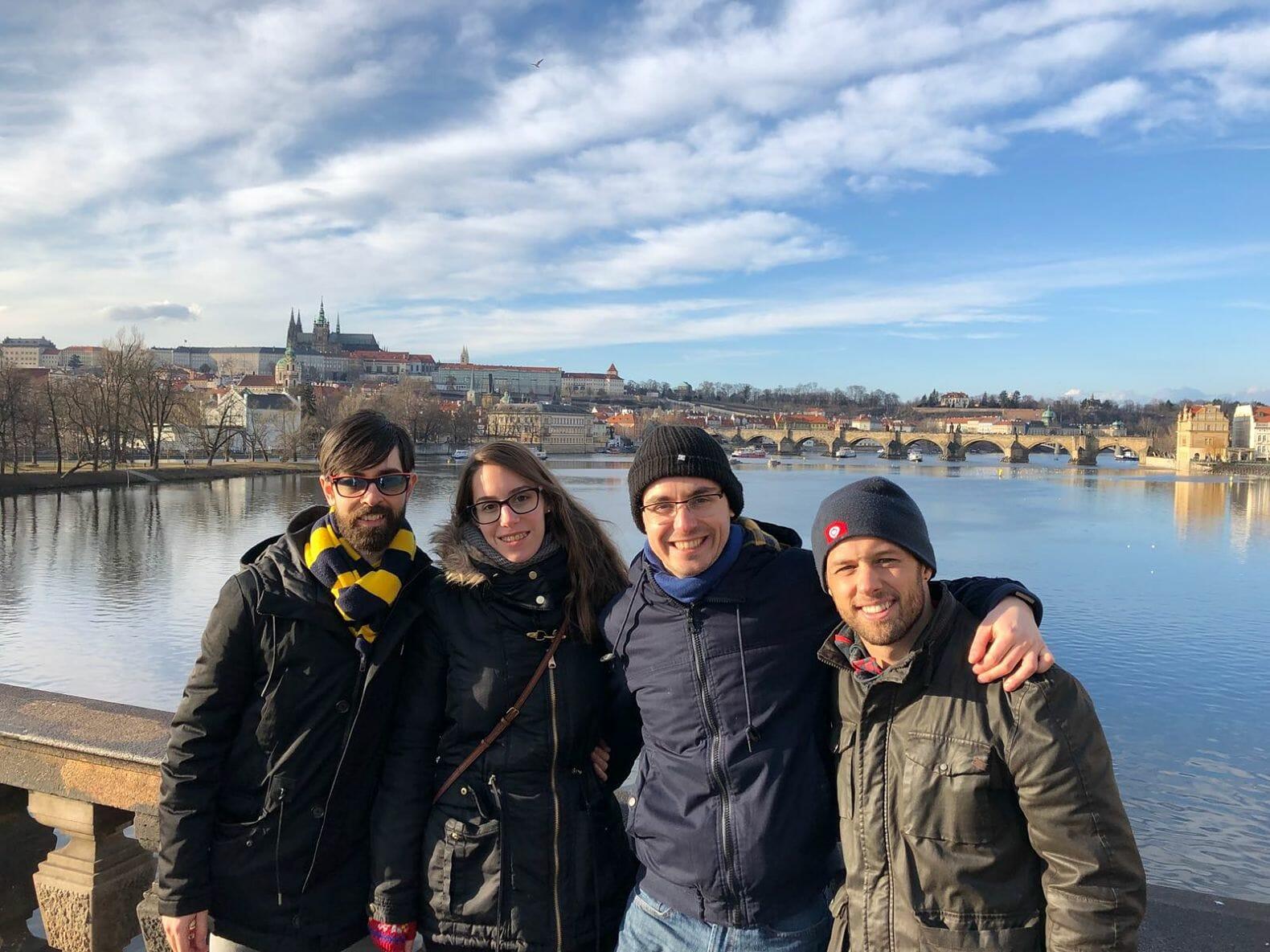Março de 2018. Visita em Praga