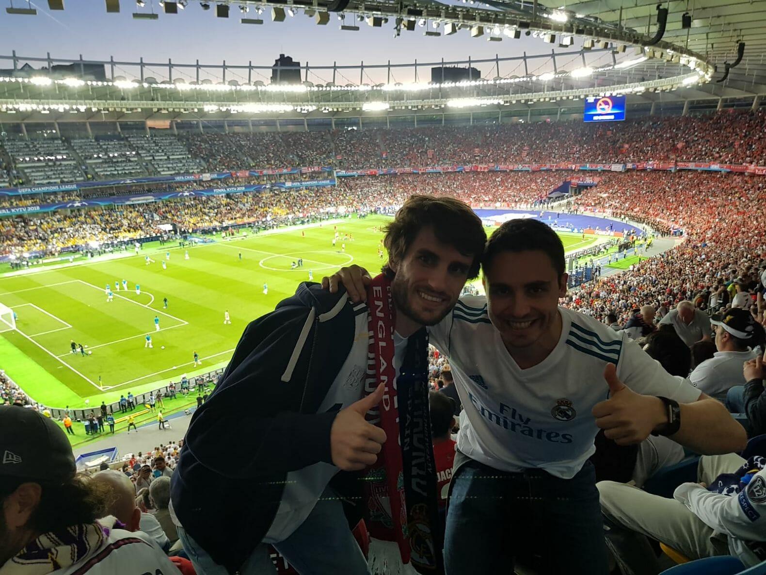 Maio de 2018. Final da Liga dos Campeões em Kiev